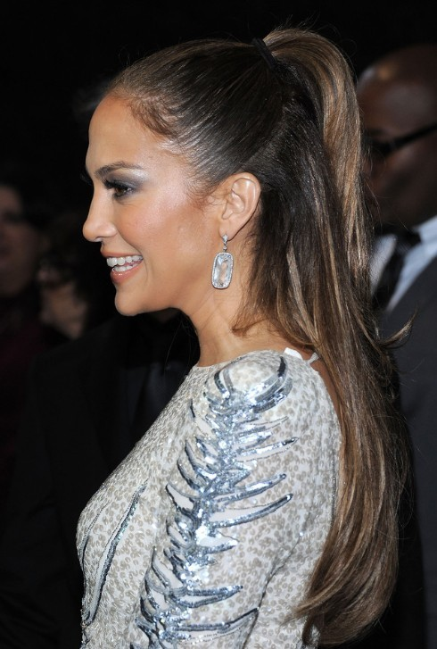 Jennifer Lopez Long Straight Hair Stylesa