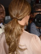 Jennifer Lopez Medium Ponytail Hairstyles 2013