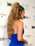 Jennifer Lopez Tousled Long Curly Haircuts 2013