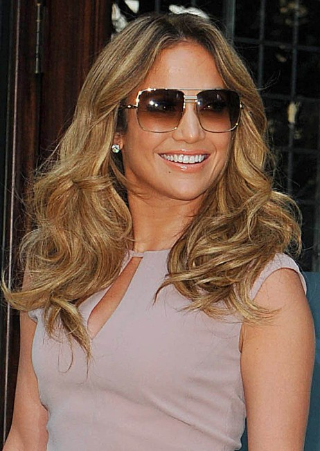 Jennifer Lopez Tousled Curls Styles Popular Haircuts