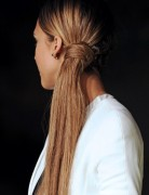 Jessica Alba Beautifully Long Ponytail Hairstyles 2013