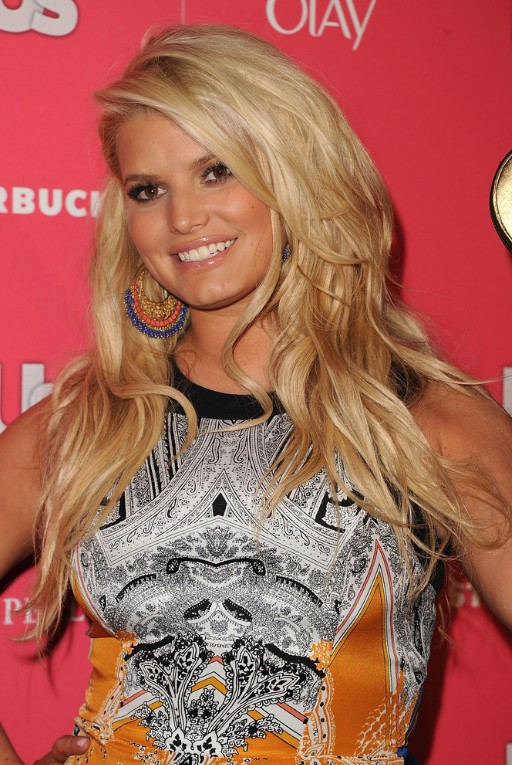 Jessica Simpson Long Layered Hairstyles 2013
