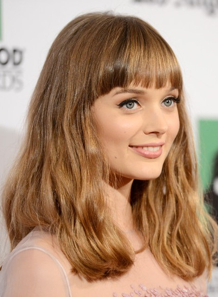 2013 Long Hairstyles for Bangs