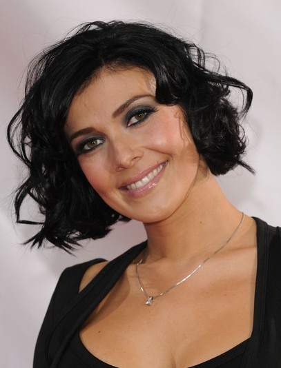 Kym Marsh Black Short Hairstyles For Curly Hair Popular