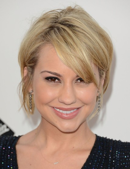 Chelsea kane blonde short layered hairstyles