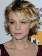 Carey Mulligan Short Hair Styles for Wavy Hair