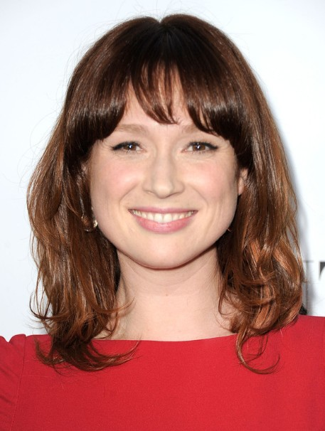 Ellie Kemper Soft Medium Hairstyles