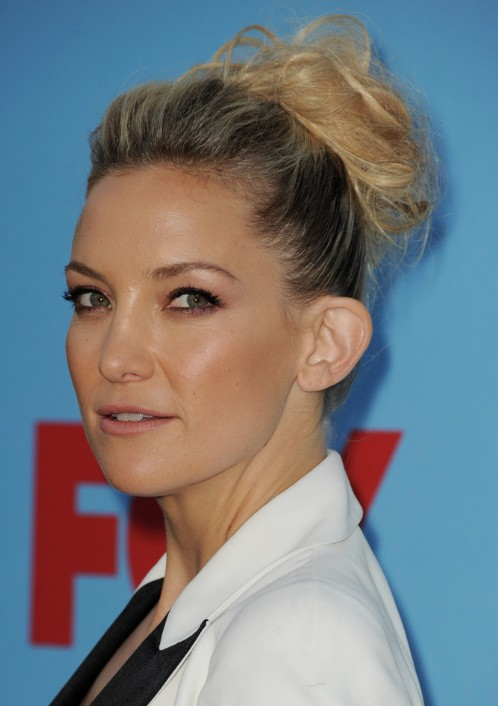 Kate Hudson Formal Updo Hairstyles for Long Hair 2013
