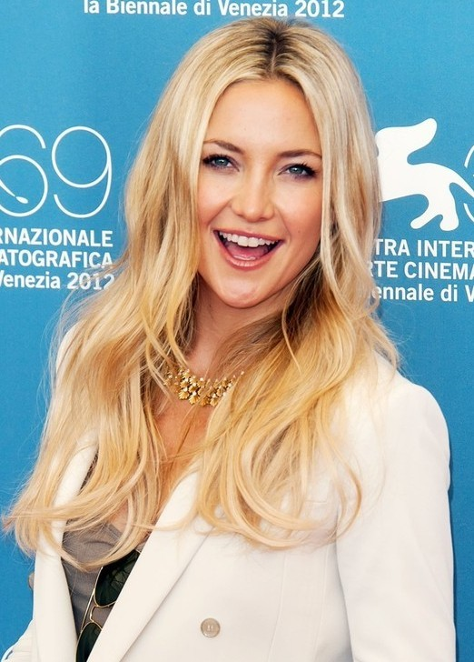 Kate Hudson Long Layered Haircuts 2013