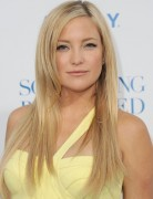Kate Hudson Long Straight Haircuts with Side Bangs