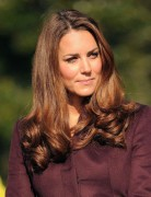Kate Middleton Medium Soft Curls Hairstyles 2013