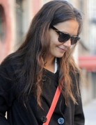 Katie Holmes Casual Long Hairstyles for Fine Hair
