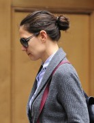 Katie Holmes Chignon Hairstyle for Long Hair 2013