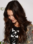 Katie Holmes Trendy Dark Golden Brown Long Hairstyles 2013