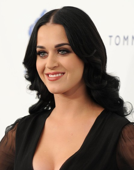 Katy Perry Big Waves Hairstyle For Long Hair Popular
