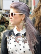 Kelly Osbourne Half Up Half Down Hairstyles 2013