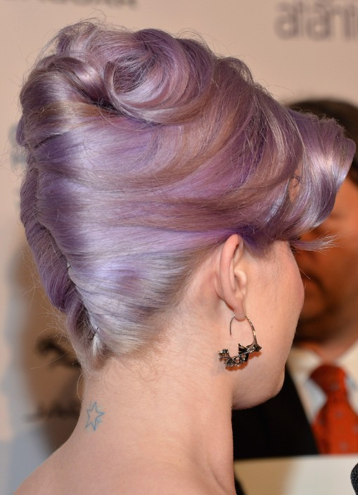Kelly Osbourne Trendy Updo Hairstyles for Prom