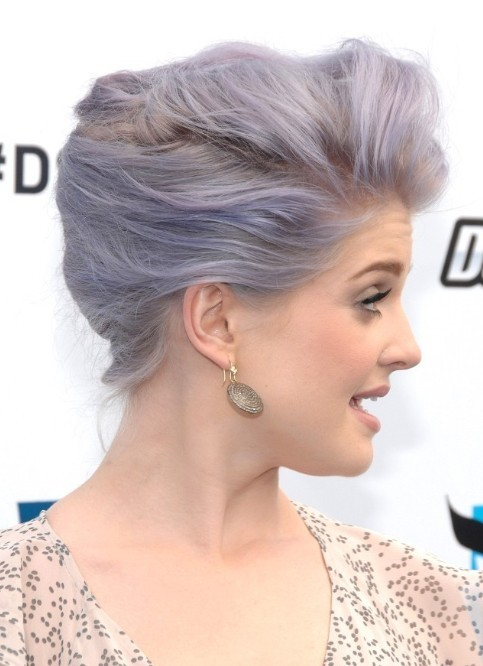 Kelly Osbourne Updo Hairstyles for Prom 2013