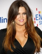 Khloe Kardashian Sleek Long Straight Hairstyles 2013