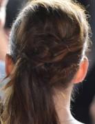 Kristen Stewart Ponytail Hairstyles Back