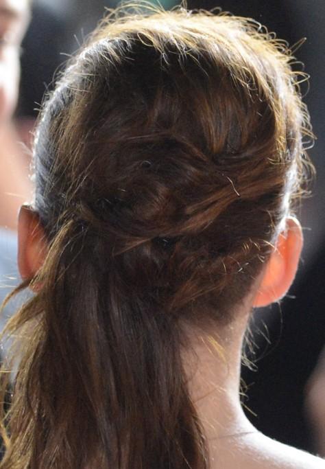 Kristen Stewart Ponytail Hairstyles Back Popular Haircuts