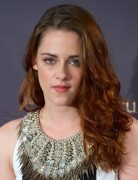 Kristen Stewart Tousled Curly Hairstyle 2013 for Medium Hair