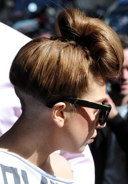 Lady Gaga Updo Hairstyles