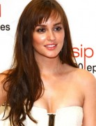 Leighton Meester Choppy Layered Hairstyles 2013