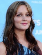 Leighton Meester Long Loose Wavy Hairstyle 2013