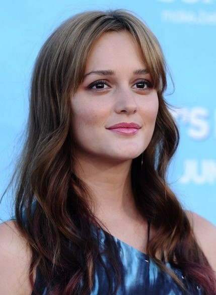 Leighton Meester Long Loose Wavy Hairstyle Popular Haircuts