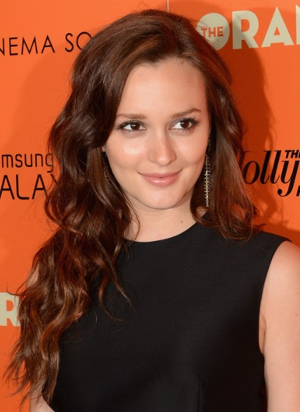 Leighton Meester Loose Curls Hairstyles For Long Hair Popular Haircuts