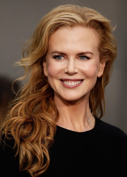 Nicole Kidman Loose Long Curly Hair Styles Popular Haircuts