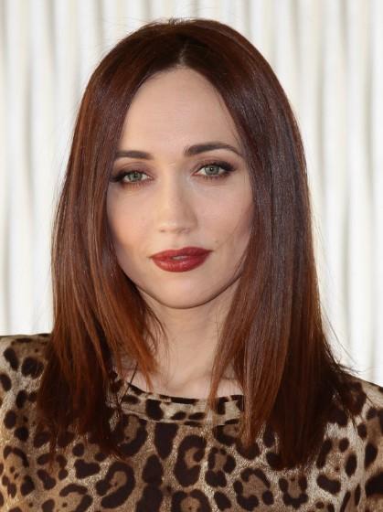 Chiara Francini Medium Length Straight Hair Styles ...