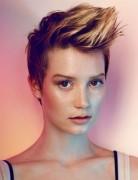 Kurze Faux Hawk Frisuren für Frauen