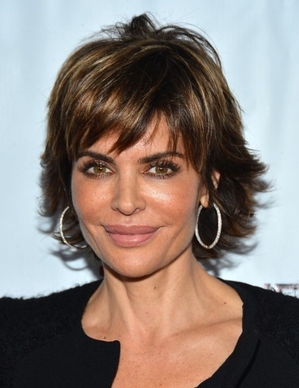 Short Layered Hairstyles 2013, Lisa Rinna | PoPular Haircuts