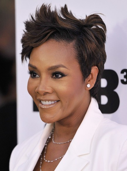Short Layered Hairstyles,Vivica A Fox