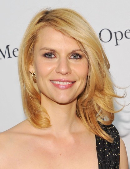 2013 Claire Danes Medium Layered Haircuts