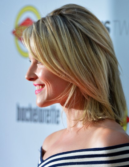 Ali Larter Trendy Medium Layered Hairstyle 2013