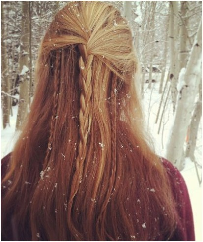 Braid Into Long Straight Hair, Diy Braided Hairstyles