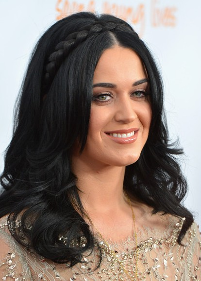 Braided Hairstyles For Long Hair Katy Perry Haircut