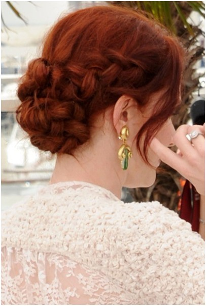 Braided Prom Updo Hairstyles for Long Hair
