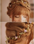 Braided Updos for Long Hair, Prom Hairstyles