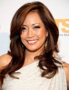 Carrie Ann Inaba, Long Haircuts with Side Bangs