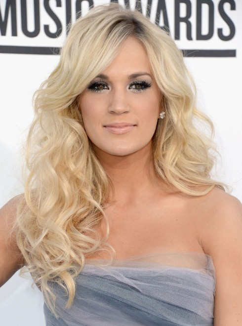 Carrie Underwood Curly Hairstyles