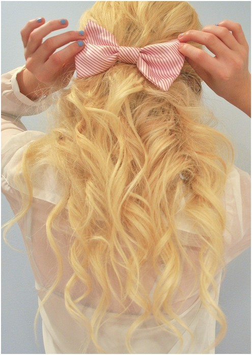 Cute Blonde Long Hair For Girls Curly Hairstyles