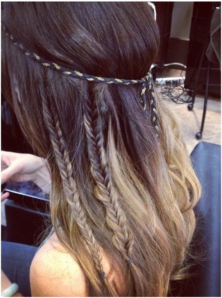 Hairstyles For Long Hair Cute : DIY Braided Hairstyles for Long Hair: Cute Braid - PoPular Haircuts