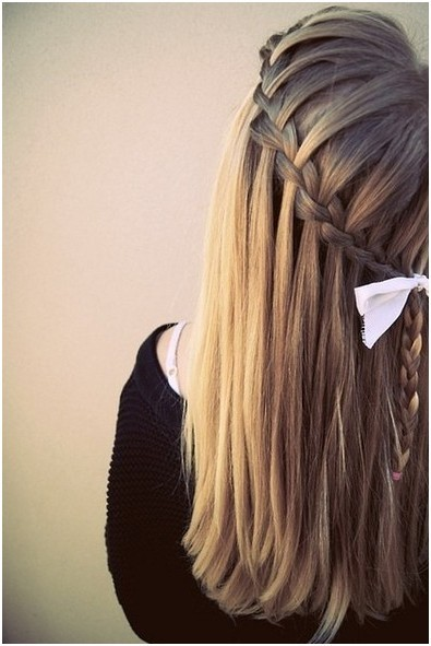 Diy Braided Hairstyles Straight Long Hair Popular Haircuts