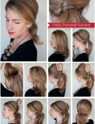 Diy Ponytail Hairstyles for Medium, Long Hair