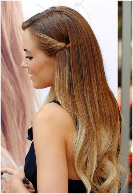 easy styles long hair