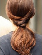 Easy Ponytail Hairstyles for Long Hair Straight Hair Trends